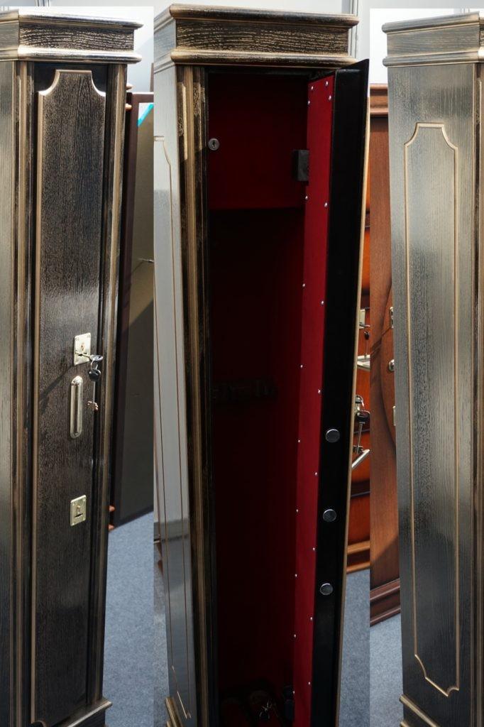 Элитный оружейный шкаф на 3 ствола Адаричев ШЭМ-3