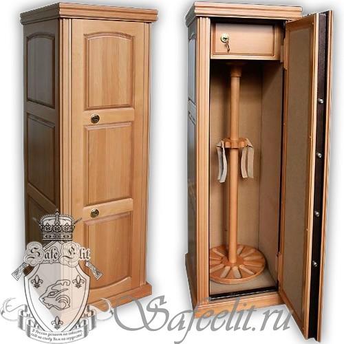 Элитный оружейный сейф шкаф на 12 стволов Адаричев ОШЭЛ 1235 ВЛ