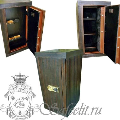 Элитный оружейный сейф шкаф для карабина «Сайга 9_19» ОШЭЛ 135/1000 Э-Z