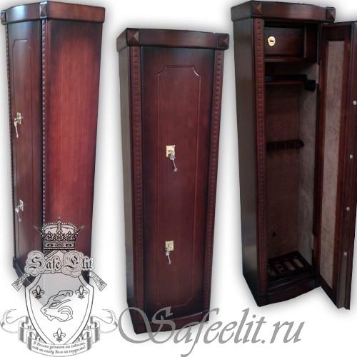 Элитный оружейный сейф шкаф на 5 стволов Адаричев ОШЭЛ 535 Z-2