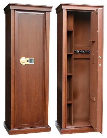 Элитный оружейный шкаф сейф на 4 ствола Адаричев Сафари DЭ