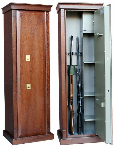 Элитный оружейный шкаф на 3 ствола Адаричев Заслон-D