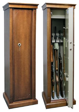 Оружейный шкаф сейф на 5 стволов Адаричев Арсенал-D