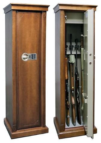 Элитный оружейный шкаф на 4 ствола Адаричев Арсенал-DЭ