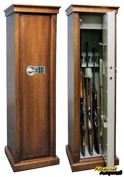 Оружейный шкаф на 5 стволов Адаричев Арсенал D EL