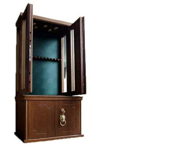 Элитная оружейная витрина сейф на 12 стволов Адаричев ОШЭЛ 1235 БД