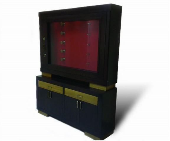 Элитная оружейная витрина сейф на 5 стволов Адаричев ОШЭЛ 535 БГ