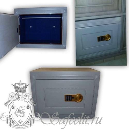Элитный встраиваемый сейф шкаф для документов Адаричев ОШЭЛ 35 ЭZ
