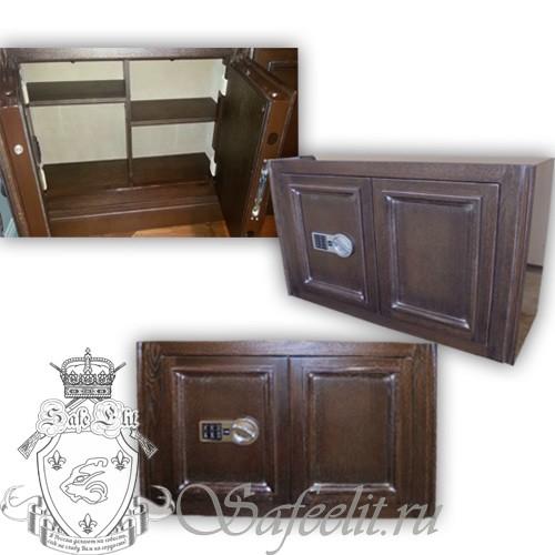 Элитный сейф шкаф для документов и короткоствольного оружия Адаричев ШЭЛ 35 ПФЭZ 620