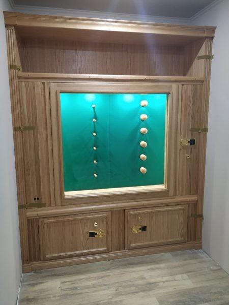 Элитная оружейная сейф витрина ОШЭЛ 1635 БГZ «СейфЭлит»